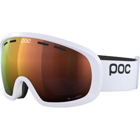 POC Fovea Mid Clarity Goggles hydrogen white/spektris orange